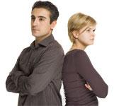 Reaktionsmuster Mann + Frau